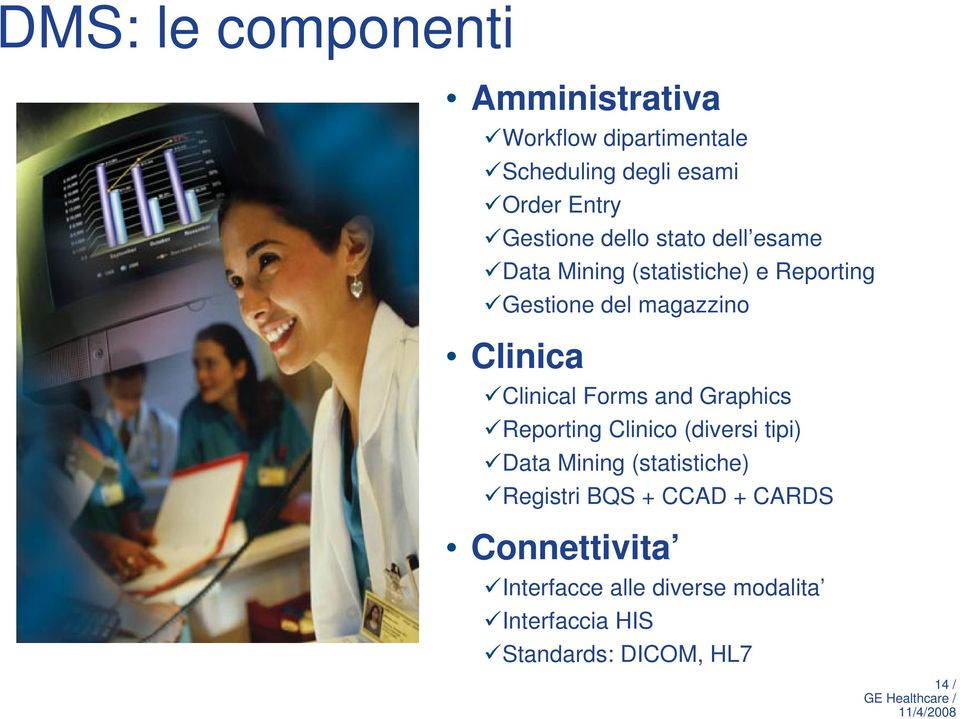 Clinica Clinical Forms and Graphics Reporting Clinico (diversi tipi) Data Mining (statistiche)