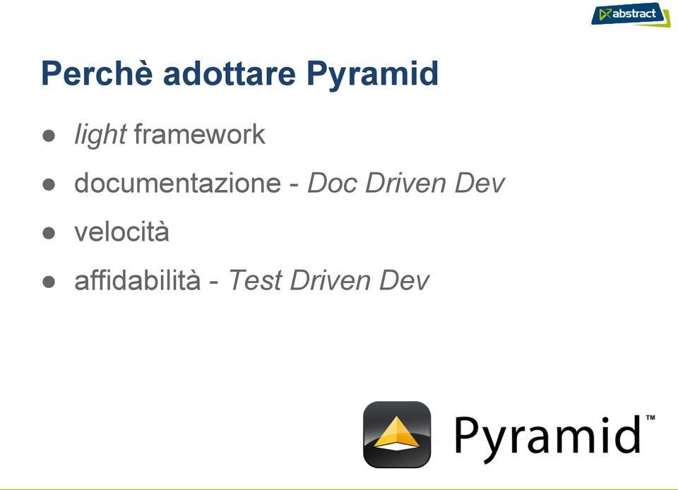 documentazione - Doc Driven
