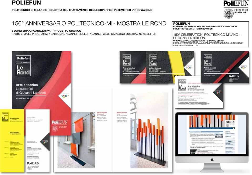 newsletter Poliefun POLIEFUN POLITECNICO DI MILANO AND SURFACE TREATMENT INDUSTRY: TOGETHER FOR INNOVATION 150 CELEBRATION POLITECNICO MILANO