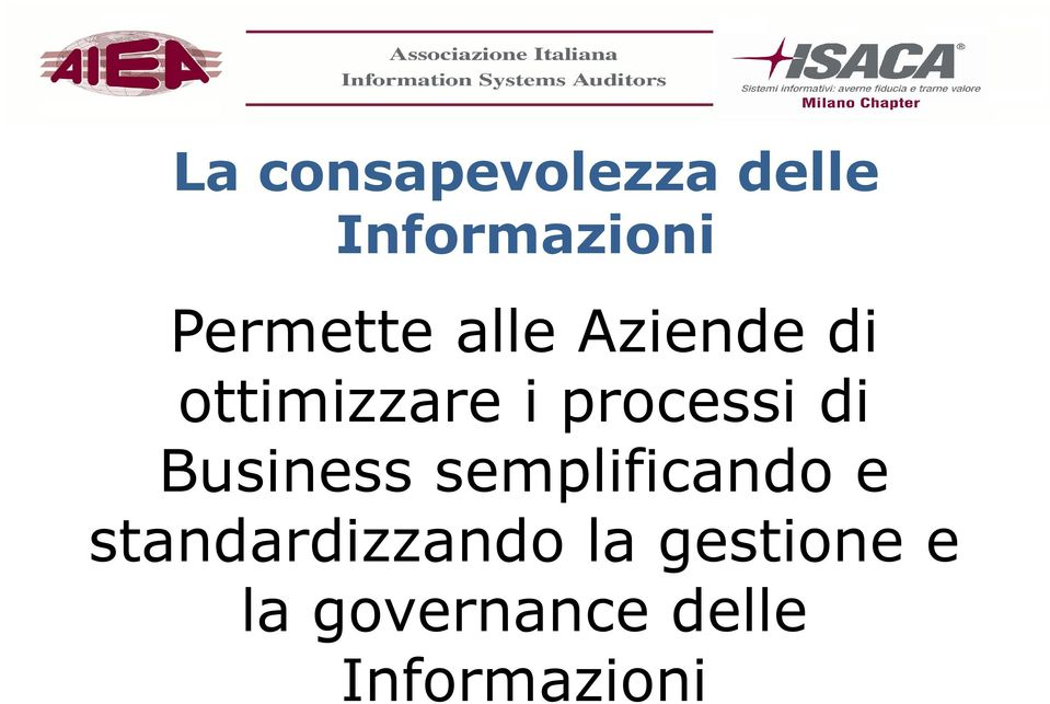 processi di Business semplificando e