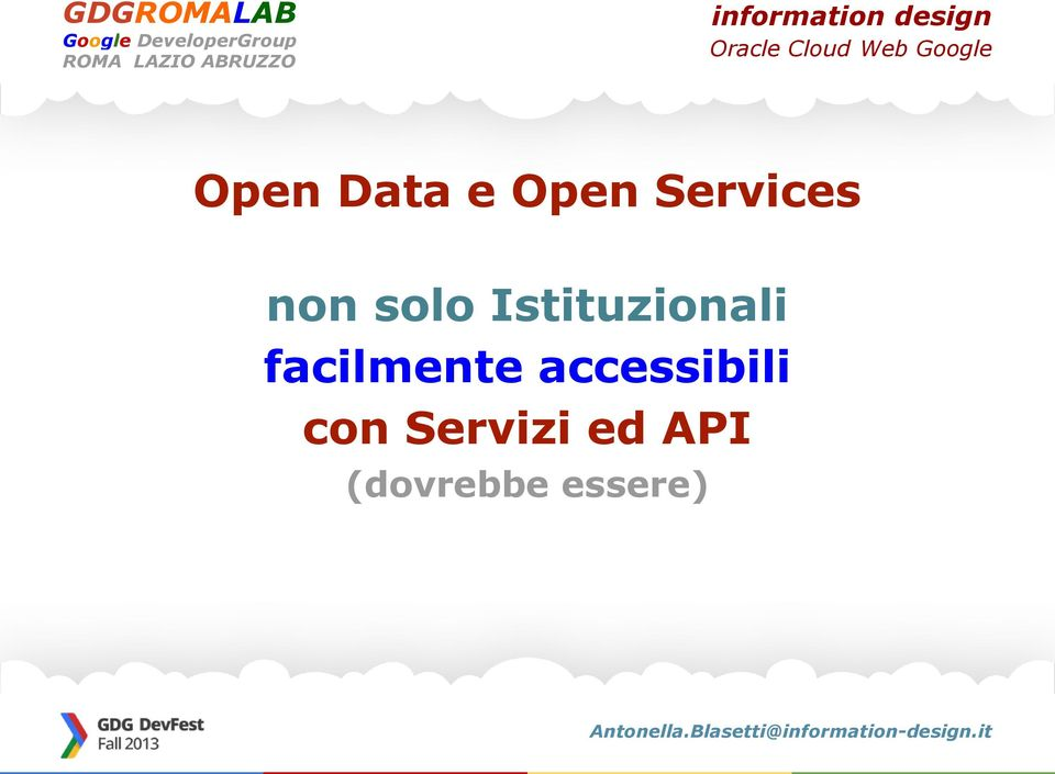 facilmente accessibili con