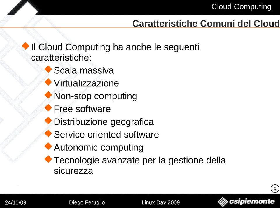 computing Free software Distribuzione geografica Service oriented