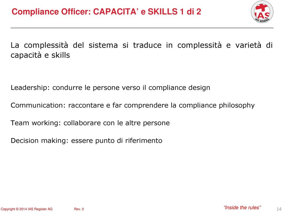 compliance design Communication: raccontare e far comprendere la compliance philosophy