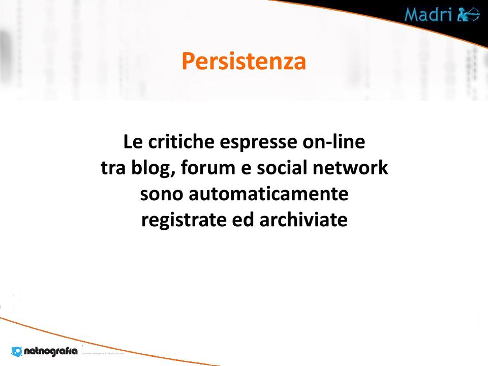 forum e social network sono