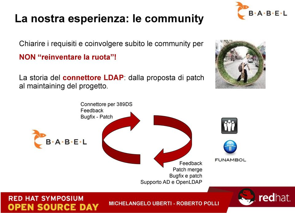 La storia del connettore LDAP: dalla proposta di patch al maintaining del