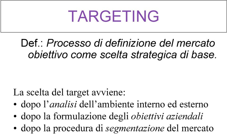 strategica di base.