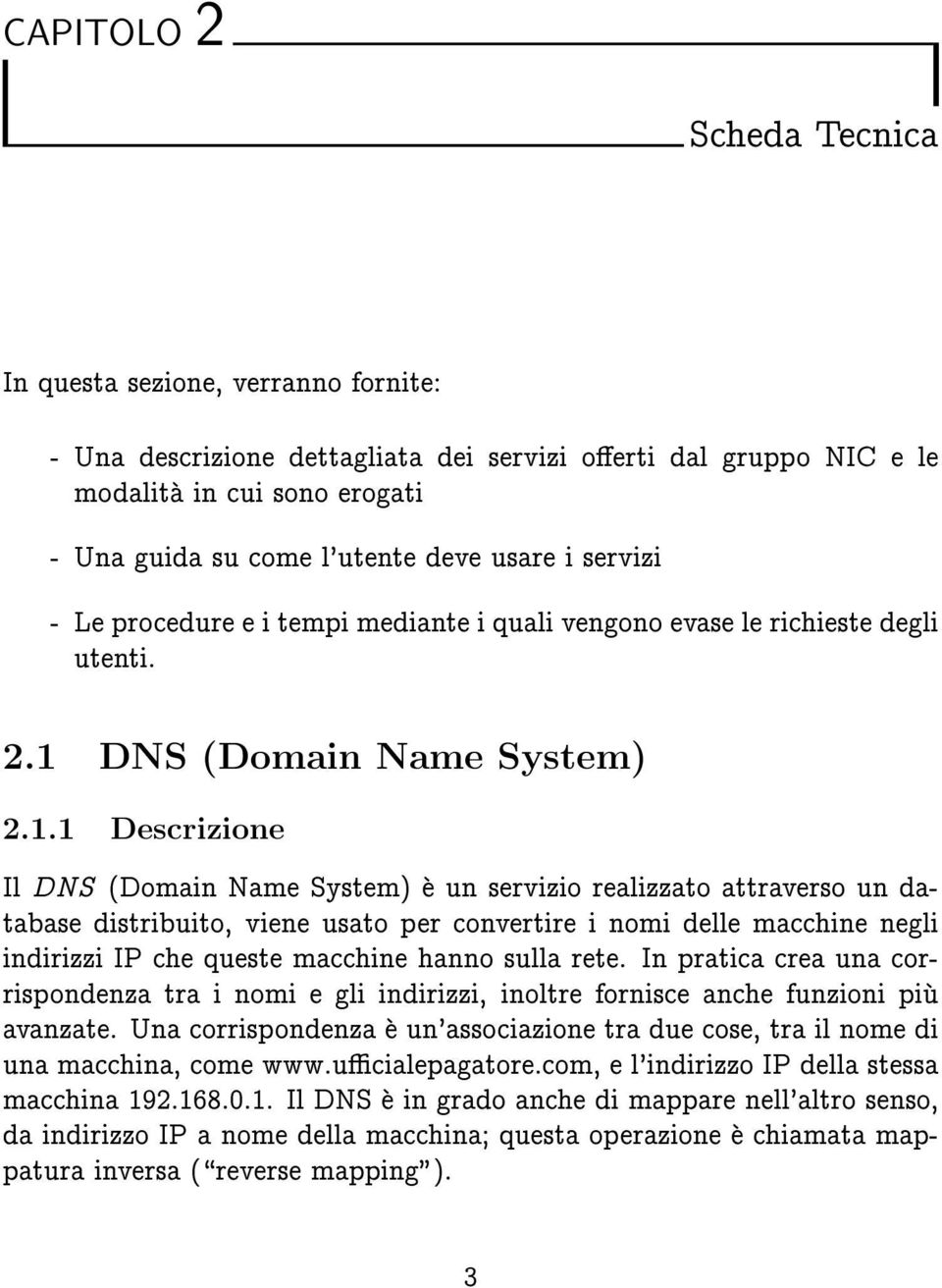 DNS (Domain Name System) 2.1.