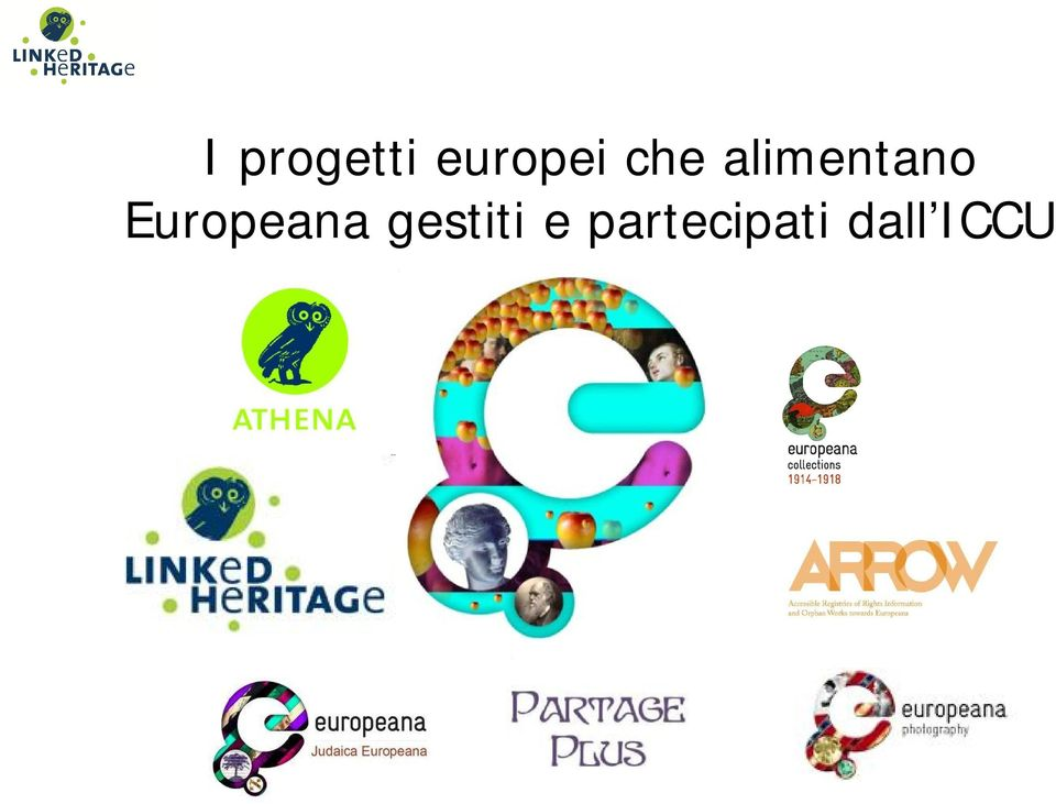 Europeana gestiti