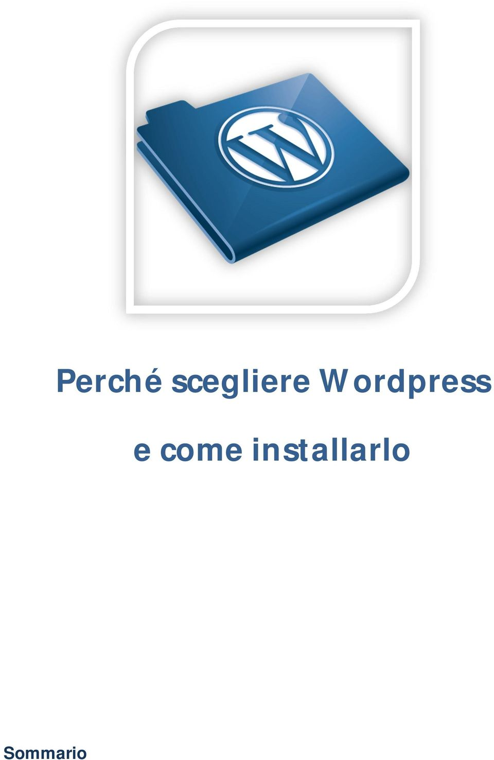 Wordpress e