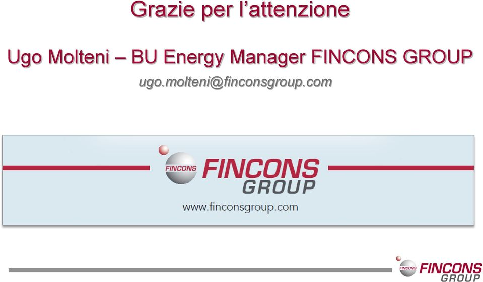 Manager FINCONS GROUP