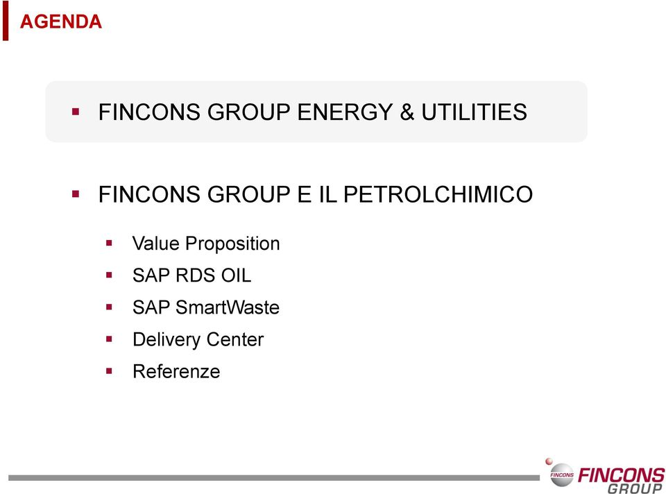 PETROLCHIMICO Value Proposition SAP