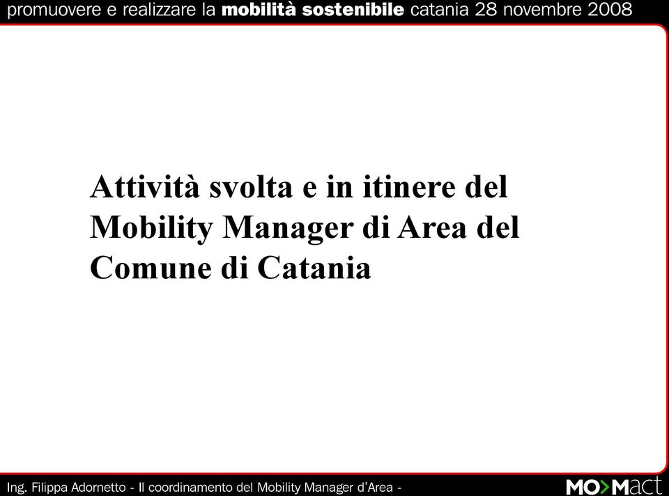 Mobility Manager di