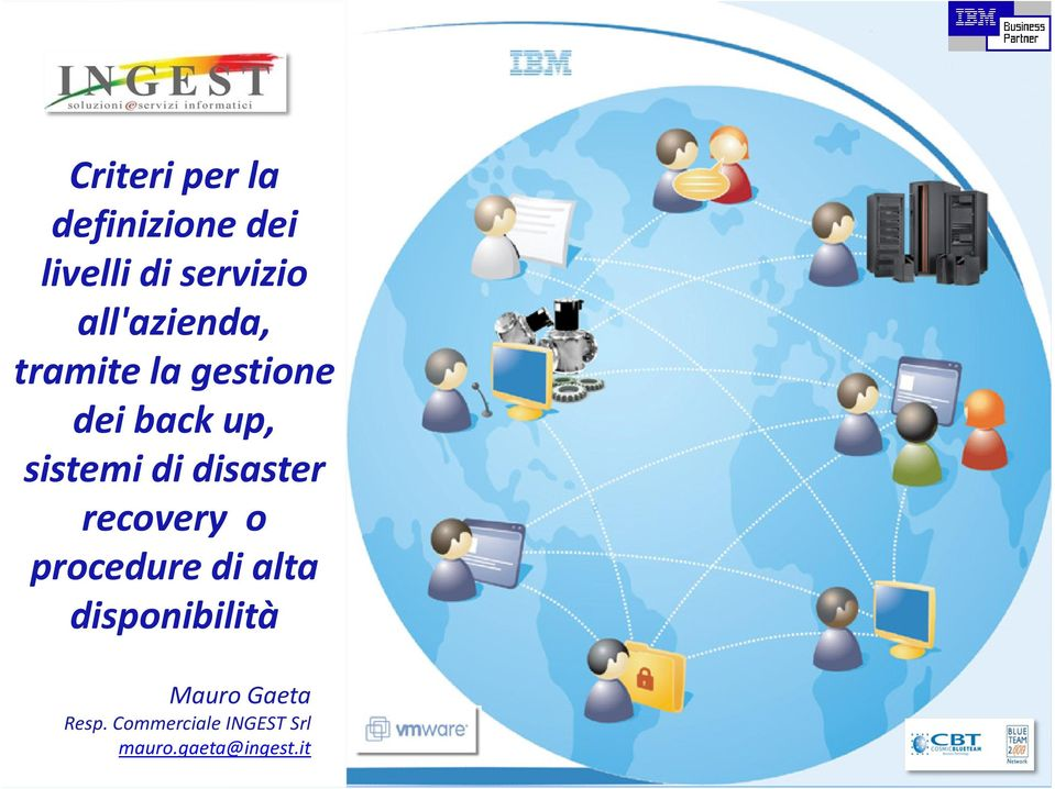 disaster recovery o procedure di alta disponibilità Mauro
