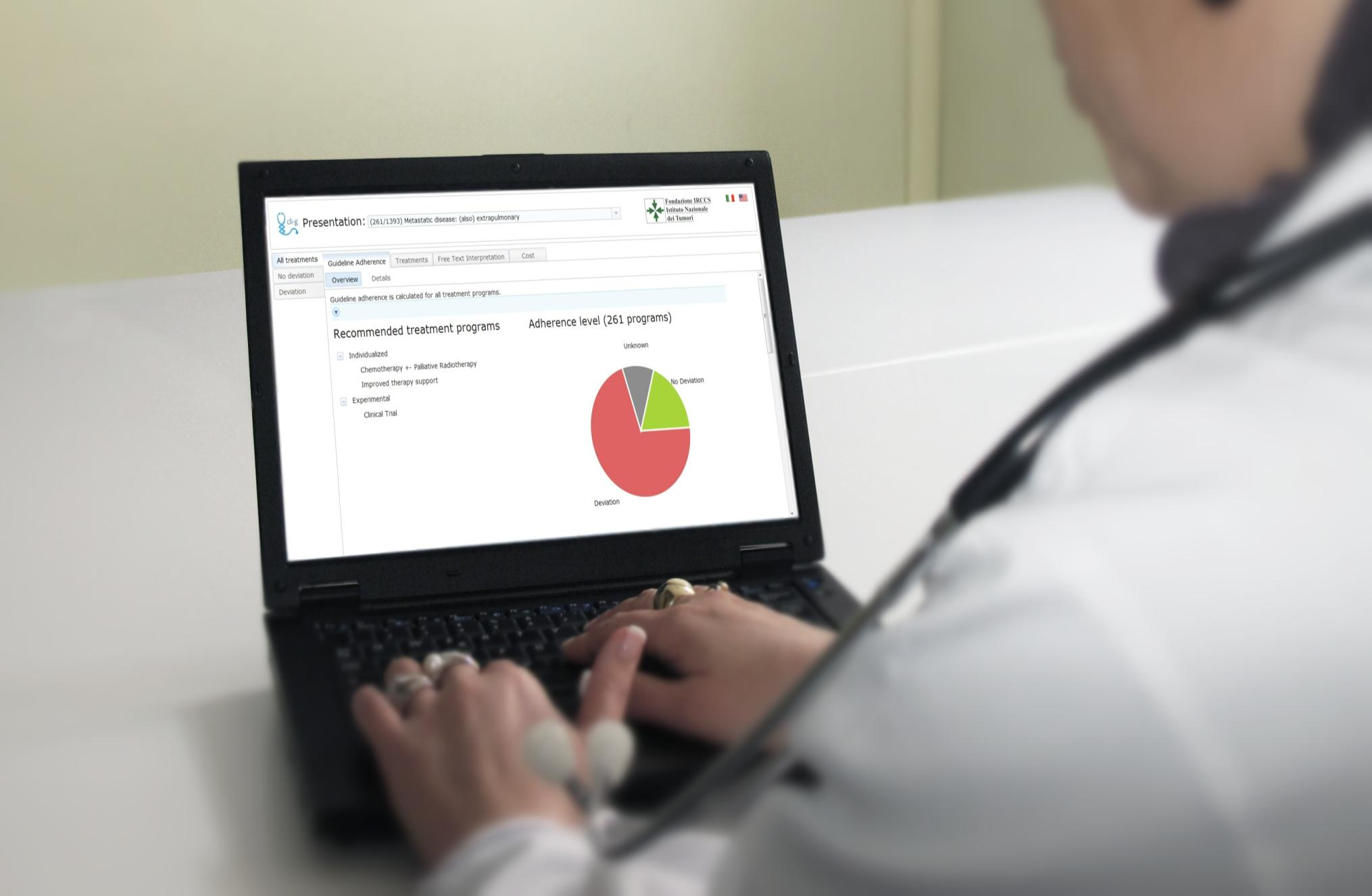 Personalized Medicine Healthcare Customer: Fondazione IRCCS - Istituto Nazionale dei Tumori Data: Patient discharge summaries and survival data from Lombardy region Technology: Free text analytics,