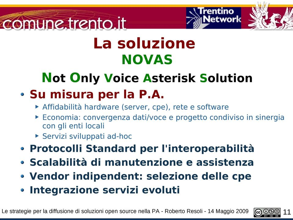 terisk Solution Su misura per la P.A.