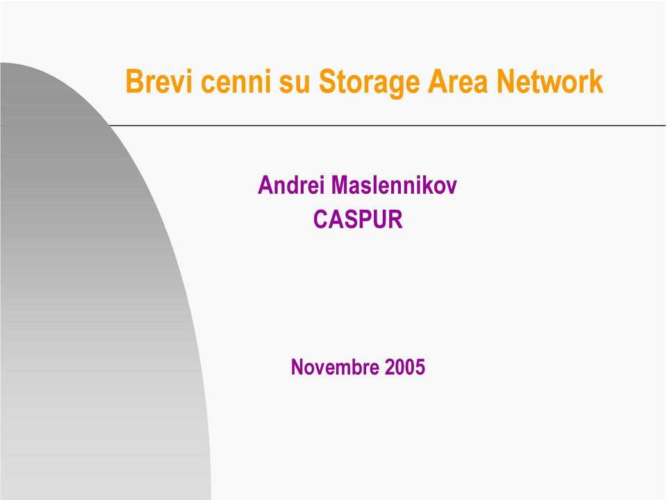 Network Andrei