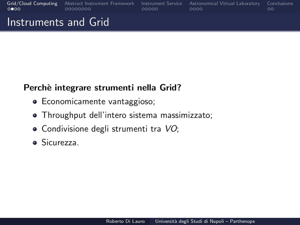 Economicamente vantaggioso; Throughput dell