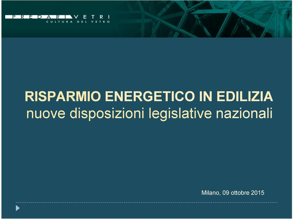 disposizioni legislative