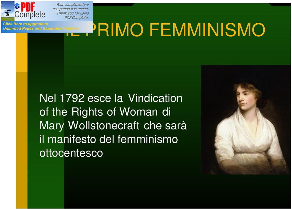 Woman di Mary Wollstonecraft che