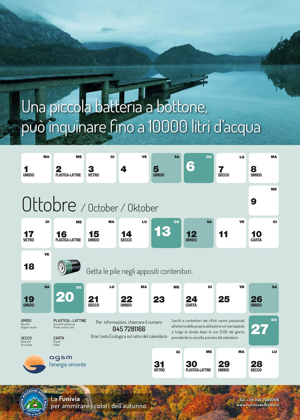 Ottobre / October / Oktober TRO 0 Getta