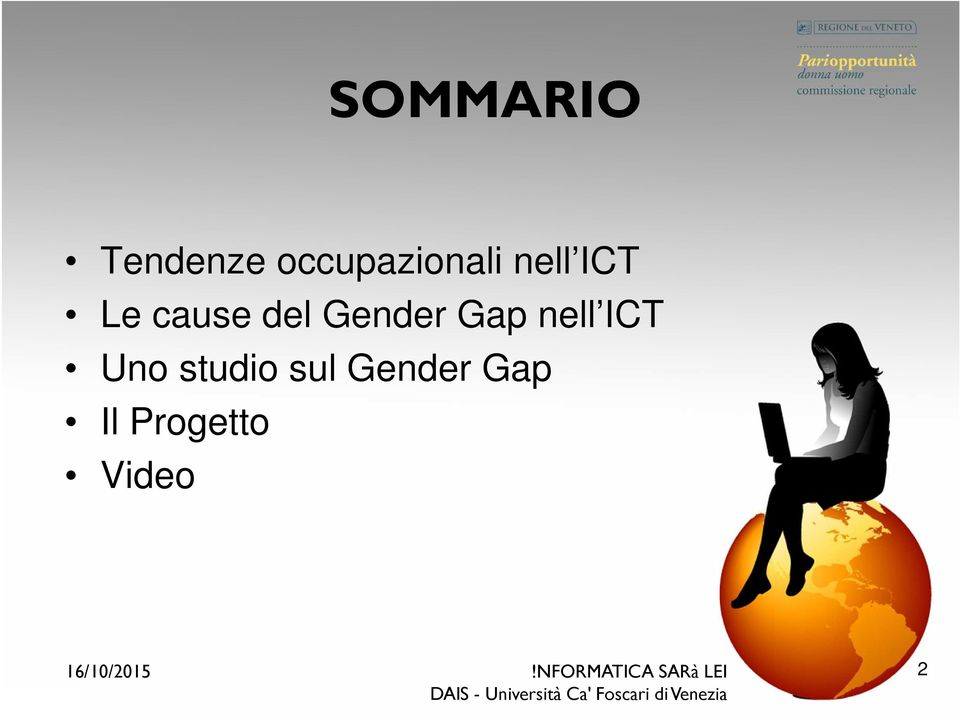 cause del Gender Gap nell ICT