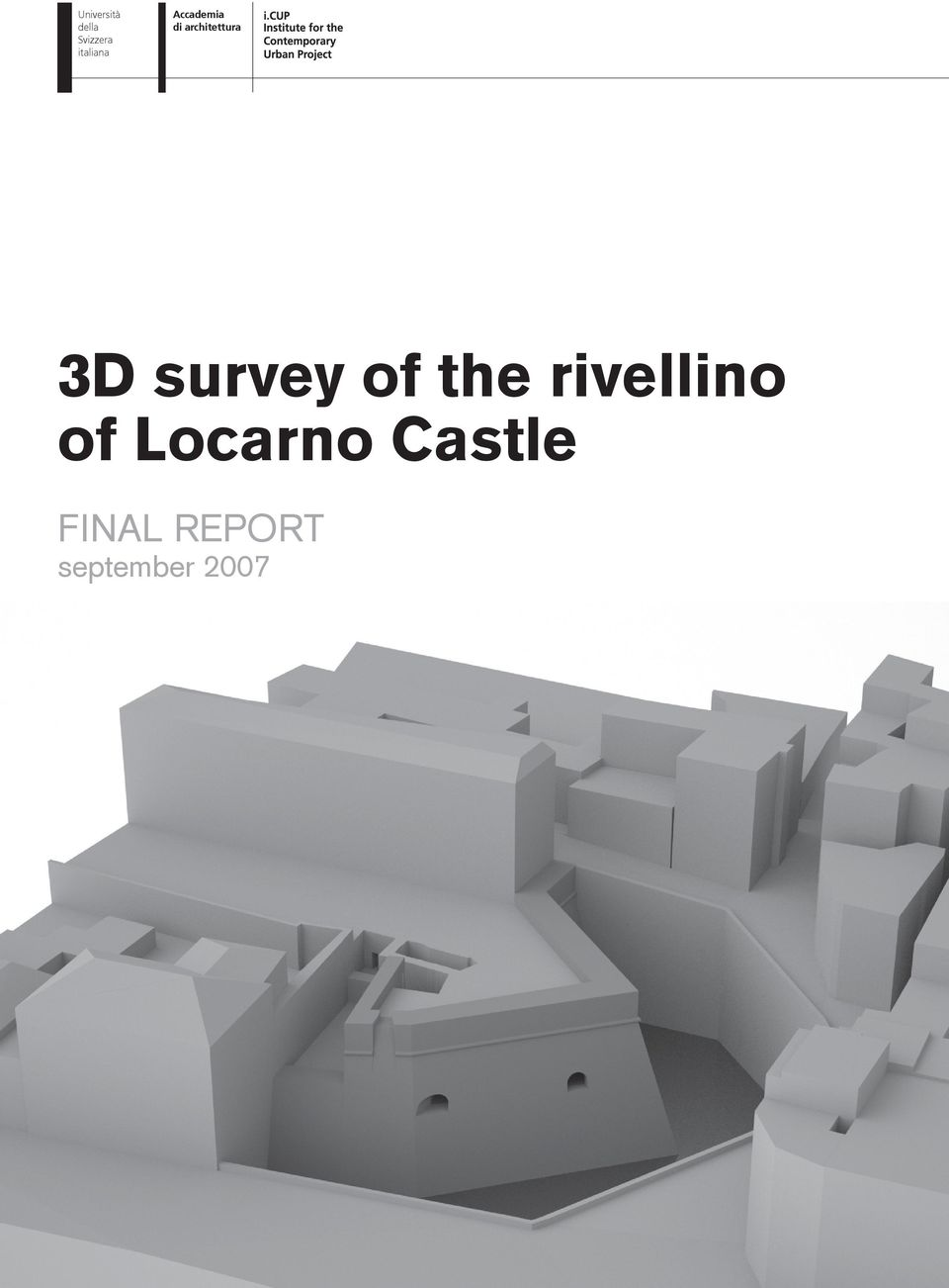 architettura 3D survey of the
