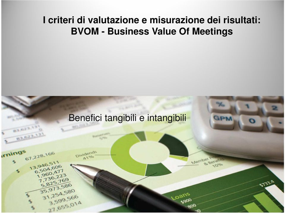 BVOM - Business Value Of