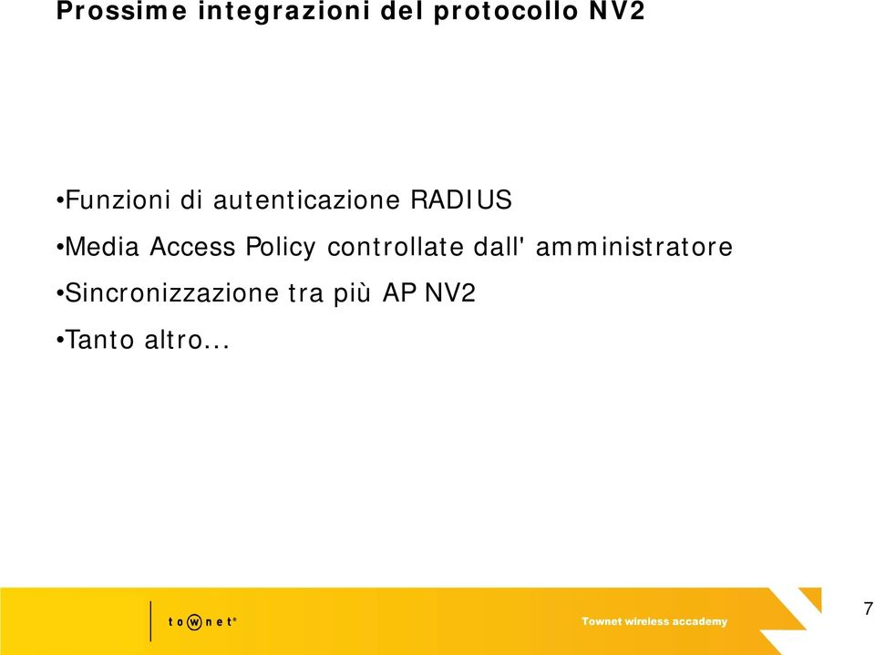 Access Policy controllate dall'