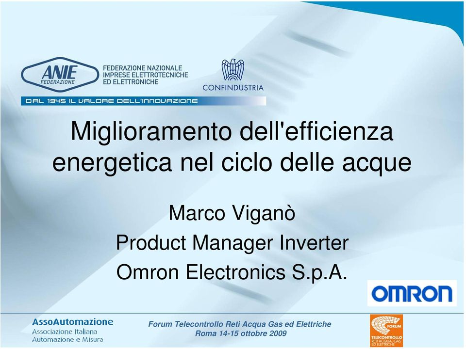 Inverter Omron Electronics S.p.A.