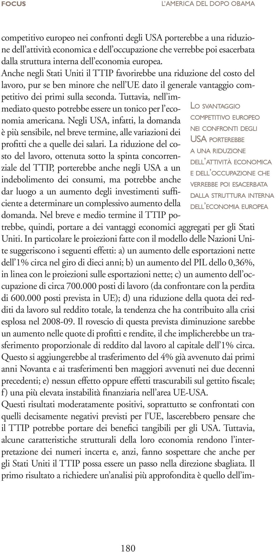 interna dell economia europea.