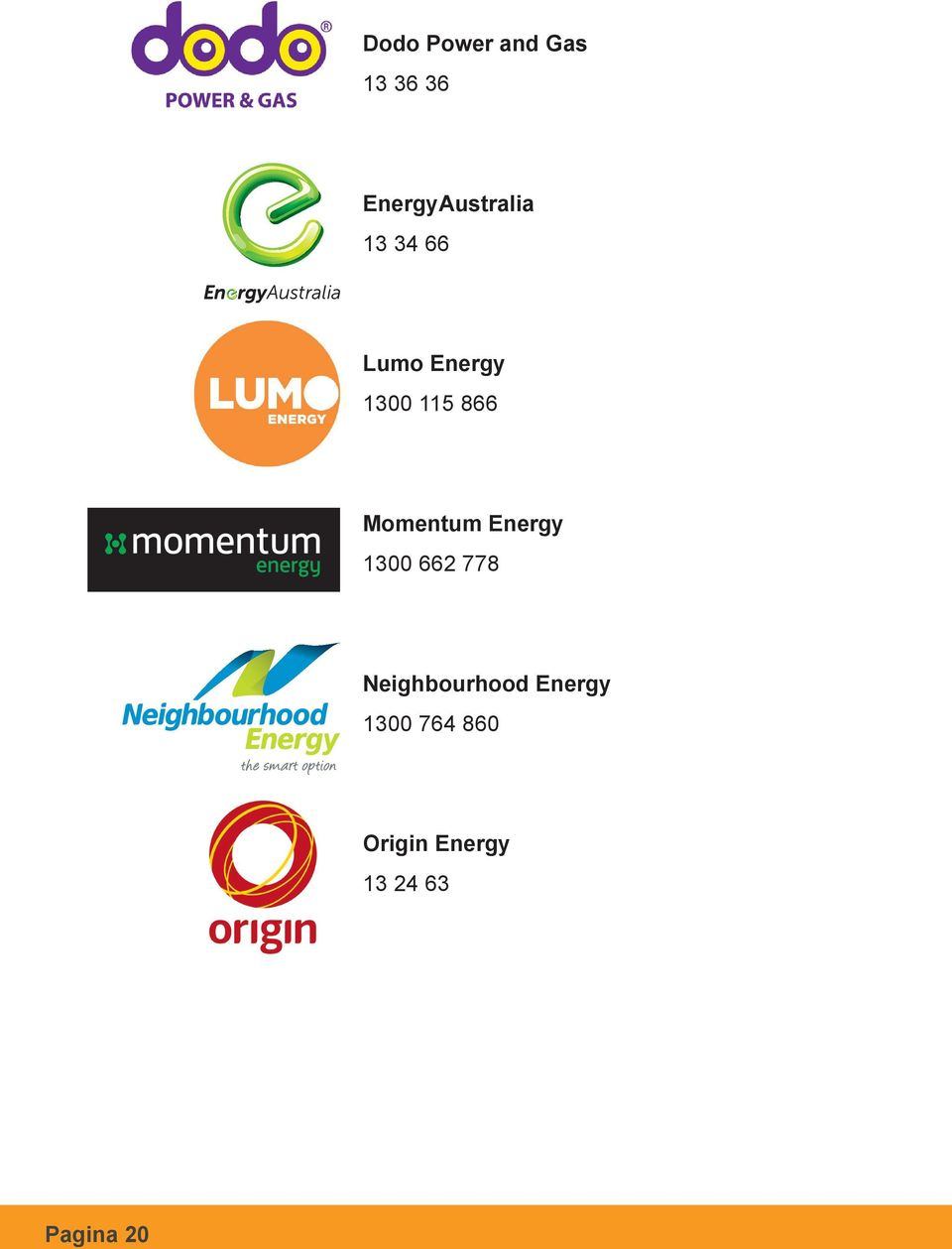 Energy 1300 662 778 Neighbourhood Energy