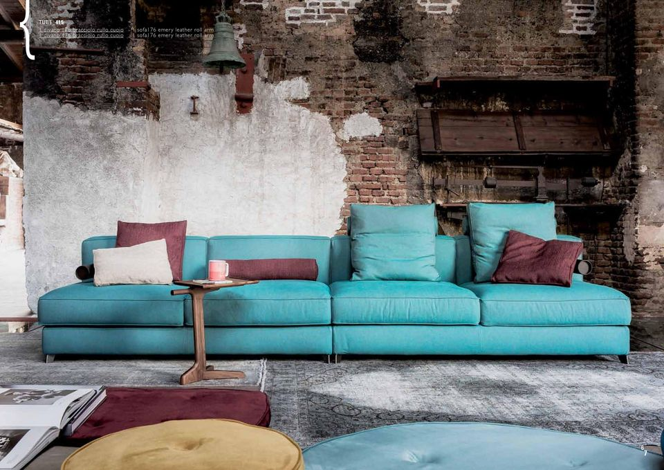 cuoio 1 sofa176 emery leather roll