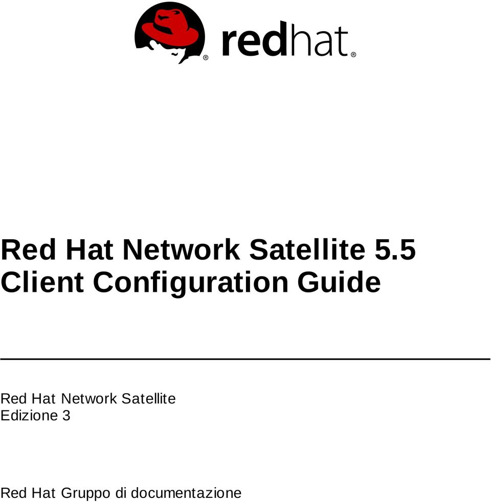 Red Hat Network Satellite