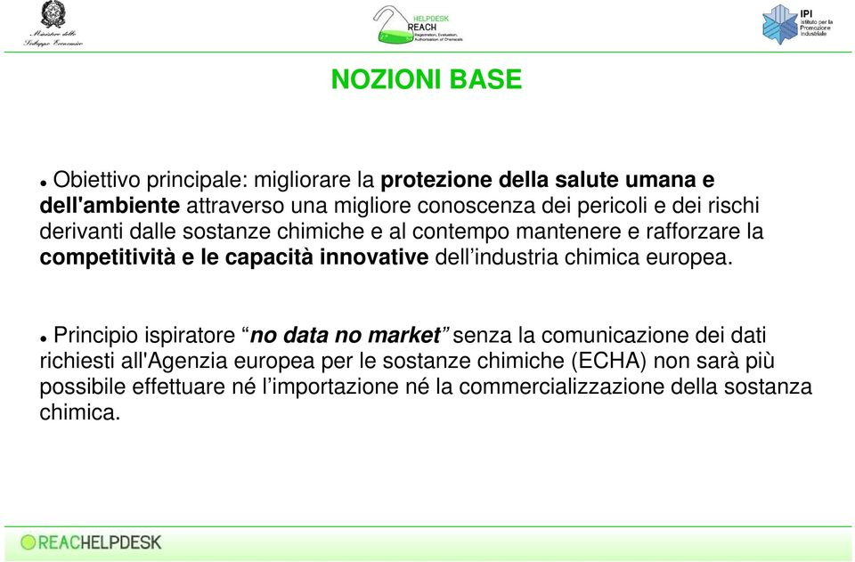 innovative dell industria chimica europea.