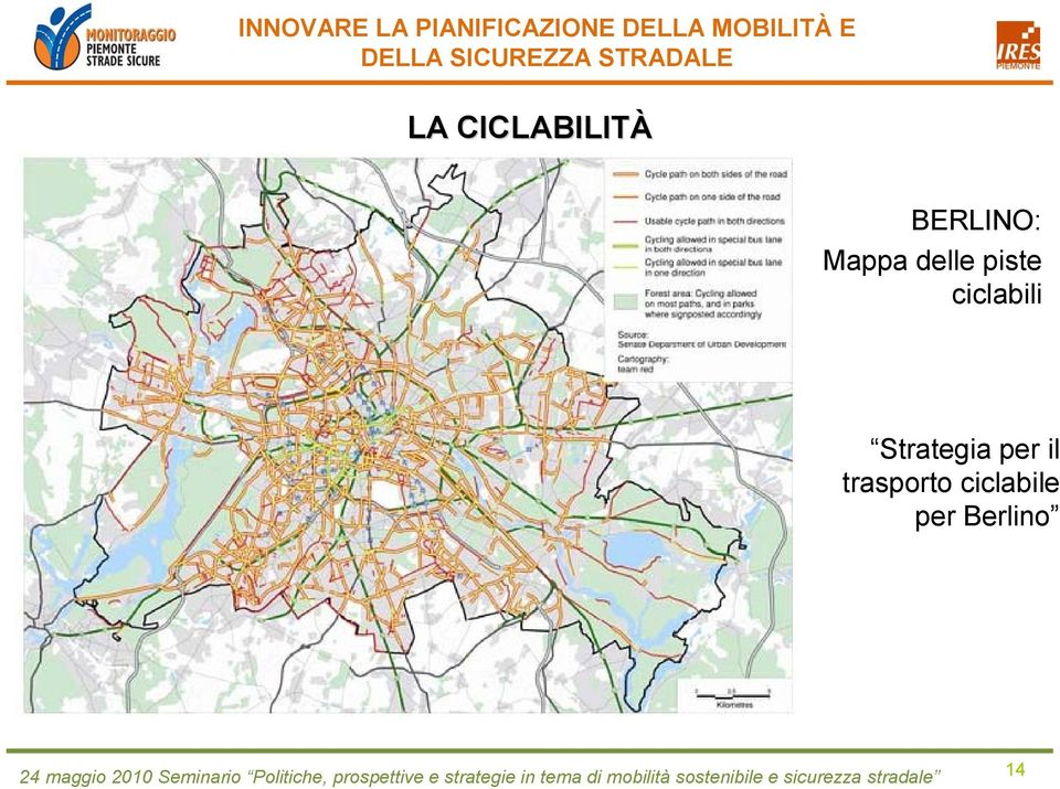 ciclabili Strategia per