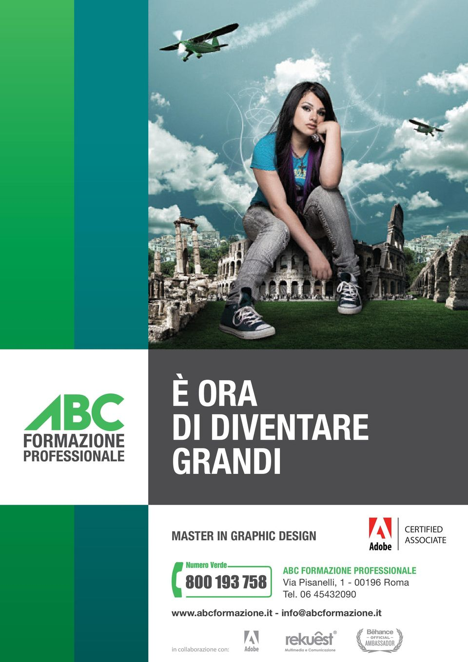 CERTIFIED ASSOCIATE AbC formazione PROfESSIONALE Via Pisanelli, 1-00196