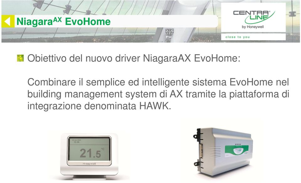 intelligente sistema EvoHome nel building management