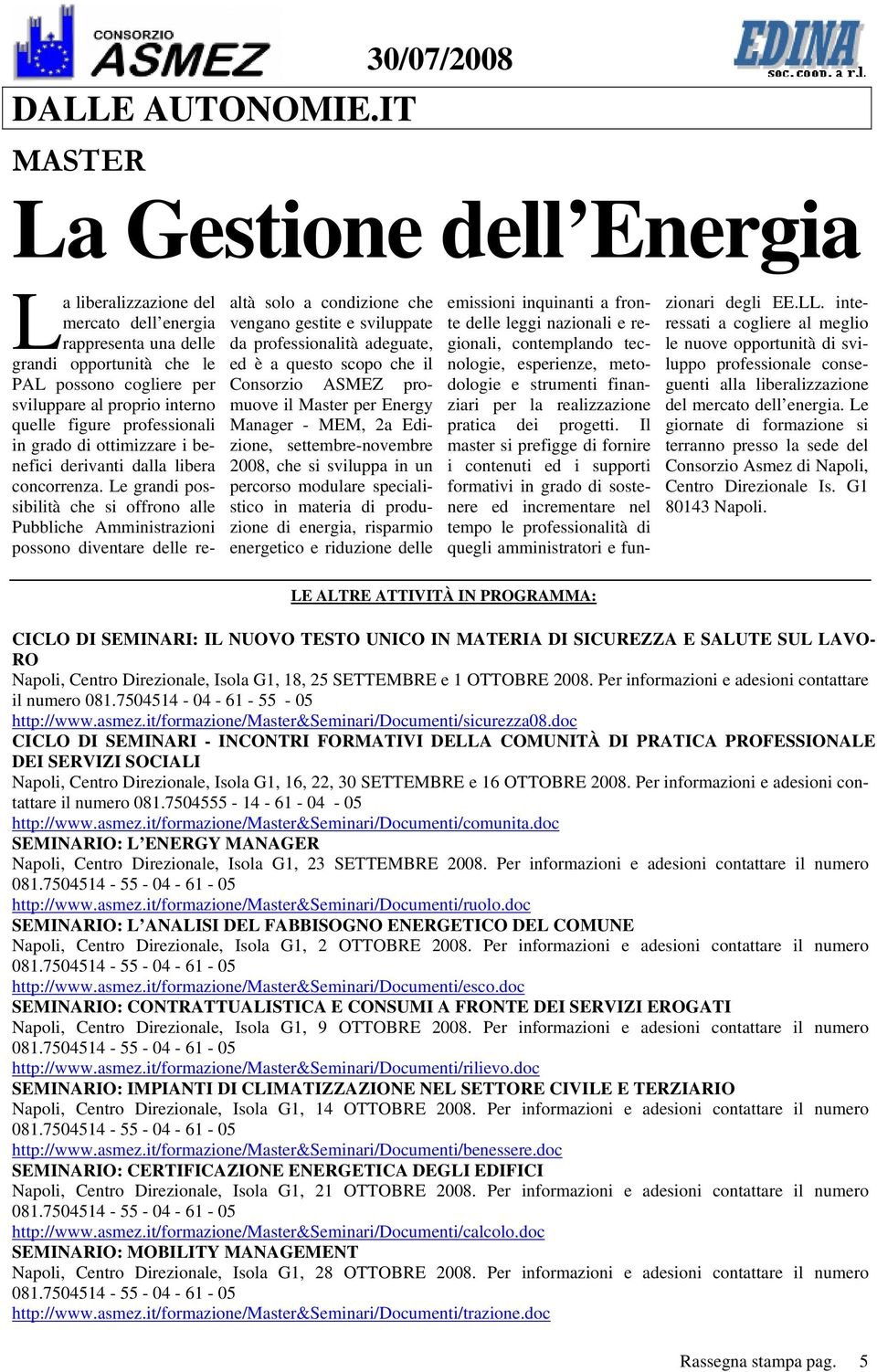 quelle figure professionali in grado di ottimizzare i benefici derivanti dalla libera concorrenza.