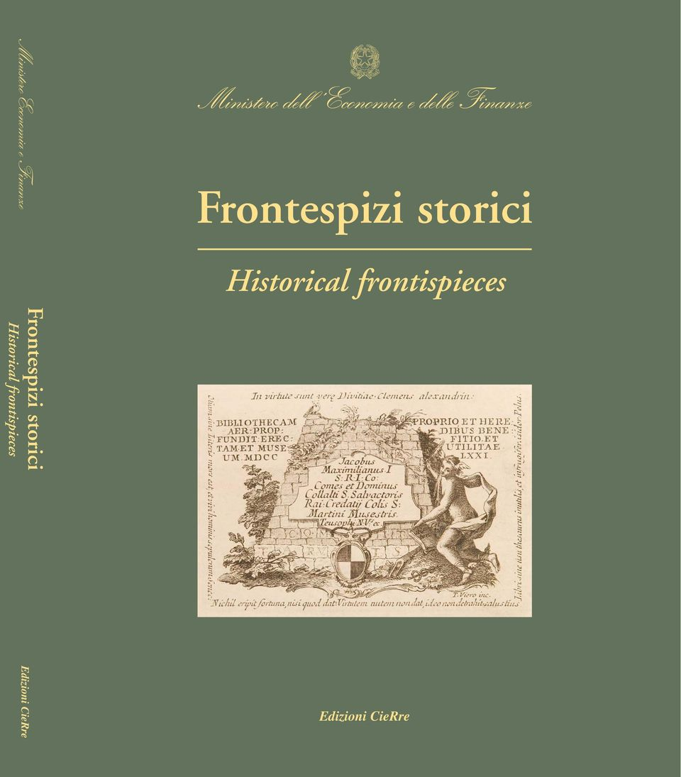 Historical frontispieces Frontespizi storici