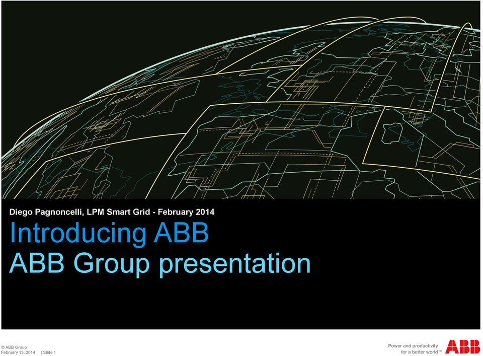 2014 Introducing ABB