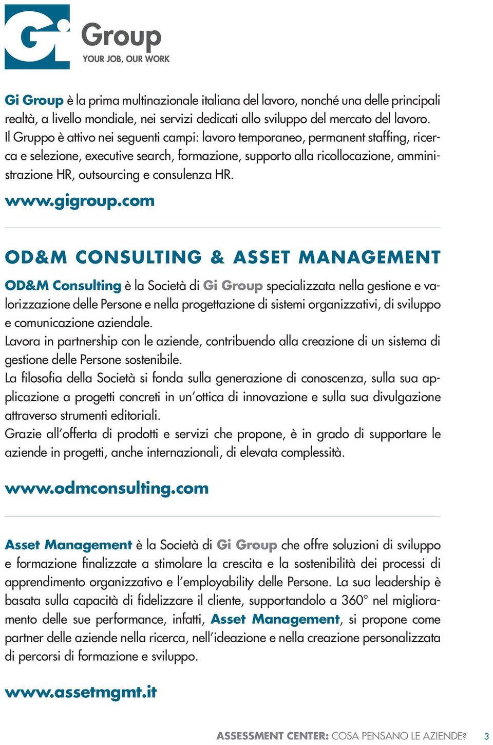 consulenza HR. www.gigroup.
