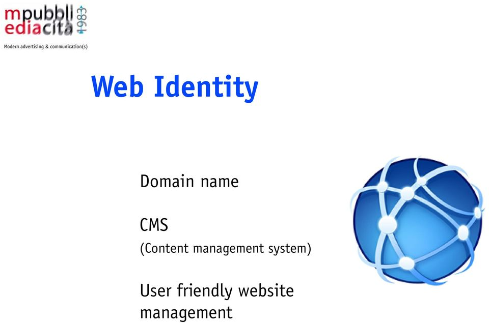 ..) CMS Web advertising (Content management