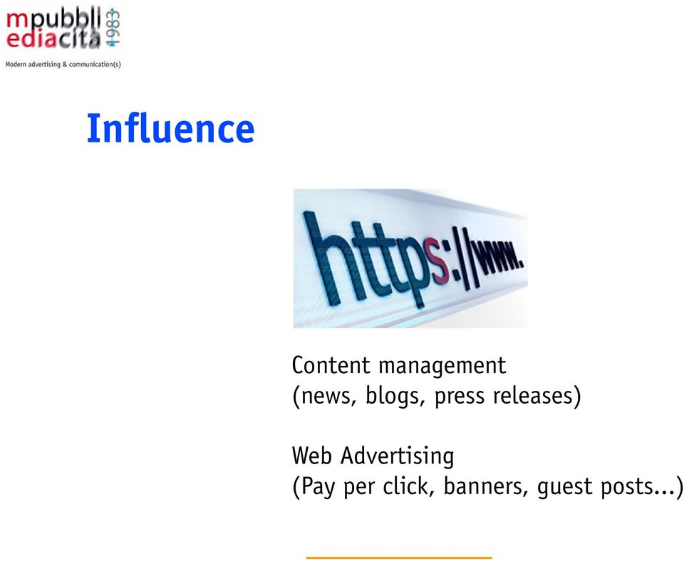 dinamica dei contenuti (Wordpress, Joomia) Web Advertising Porting