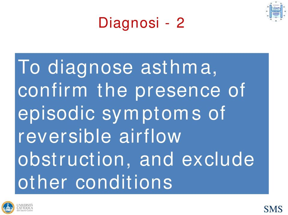 symptoms of reversible airflow