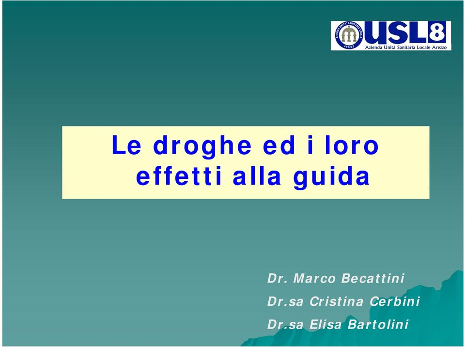 Marco Becattini Dr.