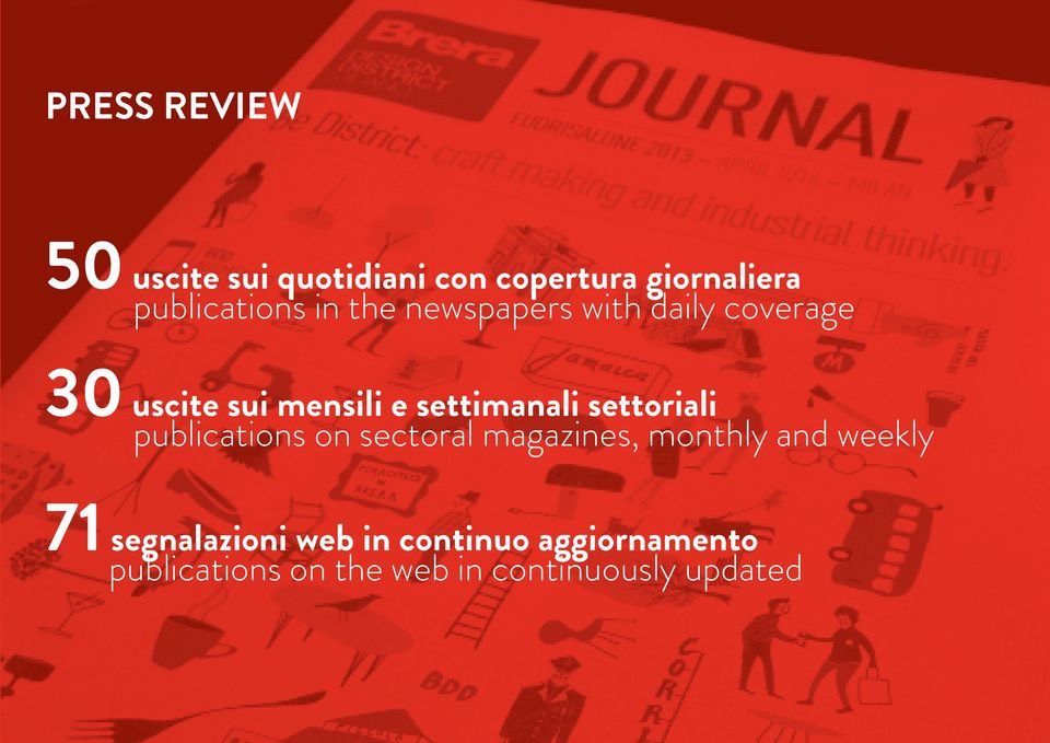 settoriali publications on sectoral magazines, monthly and weekly 71