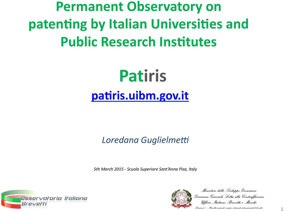 Patiris pa)ris.uibm.gov.