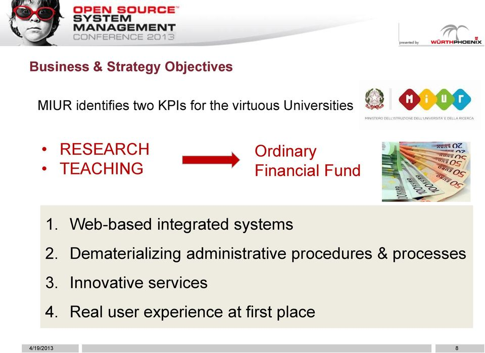 Web-based integrated systems 2.