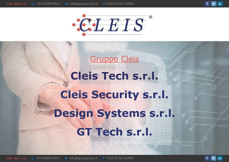 Cleis Security s.r.l. Design Systems s.