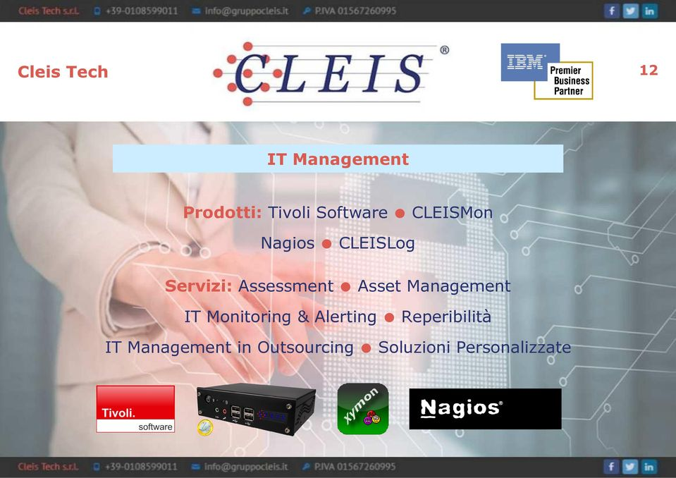 Assessment Asset Management IT Monitoring &